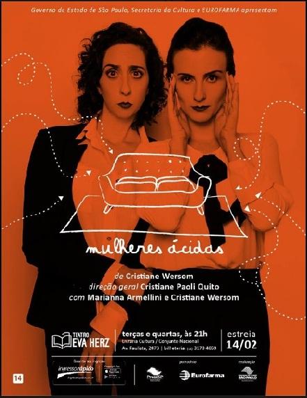 a fevereiro teatro mulheres ácidas